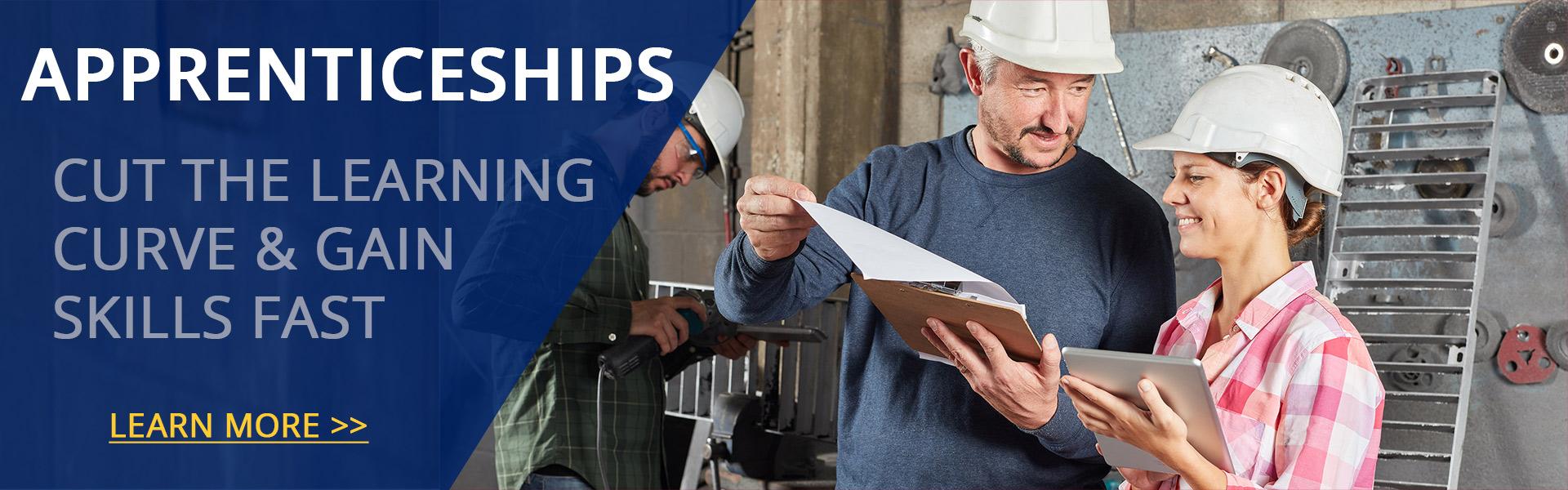 Slider – Apprenticeships